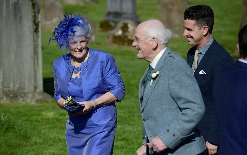 Les grands-parents d'Andy Murray