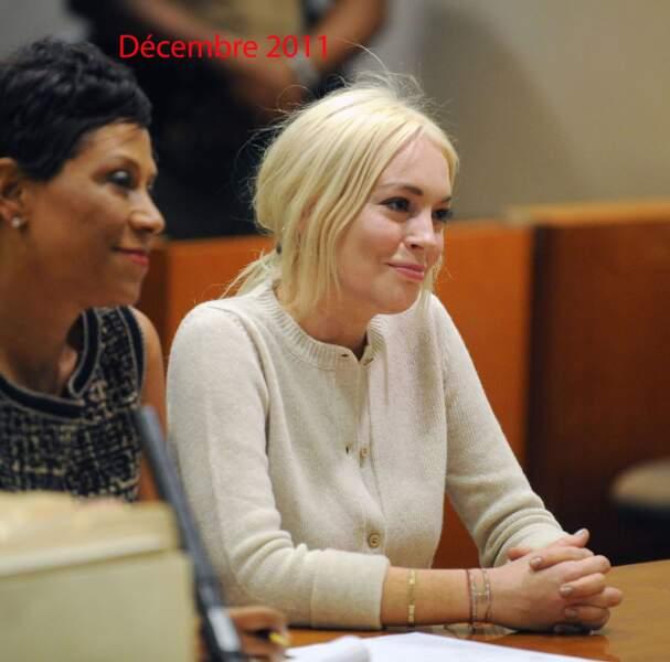 Lindsay Lohan décembre 2011