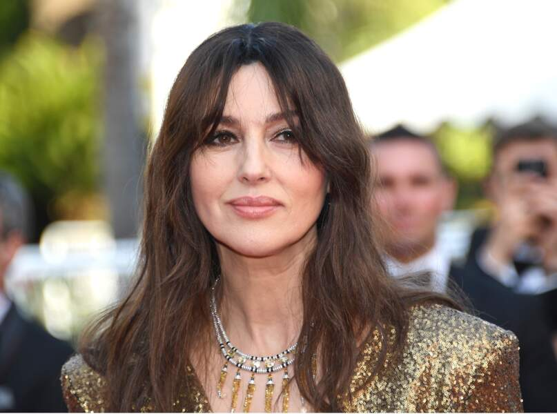 Cannes - Montée des Marches pour le 70ème anniversaire : Monica Bellucci