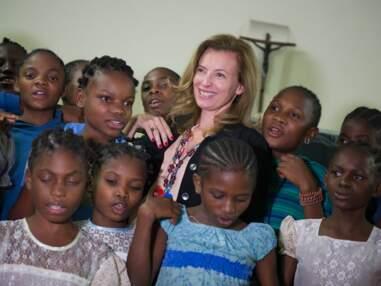 Valérie Trierweiler en visite humanitaire au Congo et au Burundi