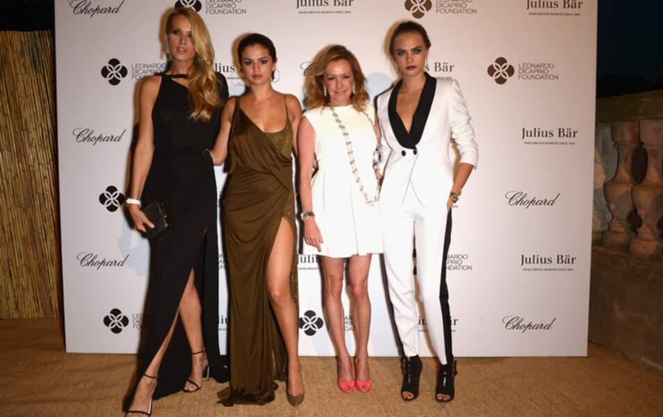 Petra Nemcova, Selena Gomez, Caroline Scheufele et Cara Delevingne