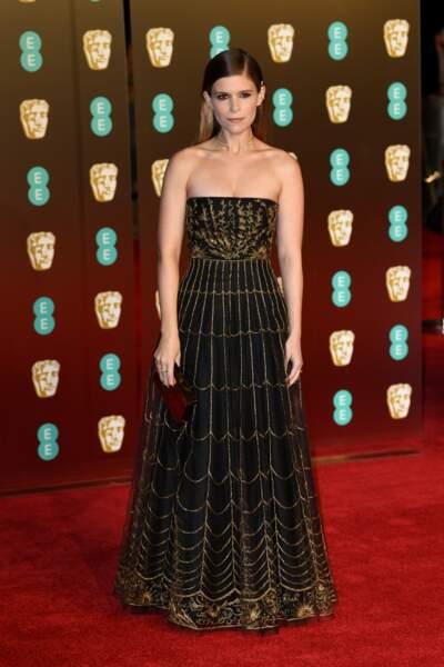 Kate Mara  aux BAFTA Film Awards 2018 à Londres, le 18 février