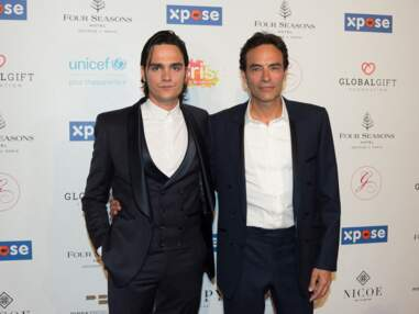 Global Gift Gala :Anthony et Alain-Fabien Delon très complices, Capucine Anav ultra glamour