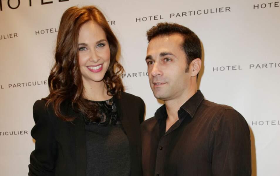 Ophélie Meunier et son compagnon Laurent