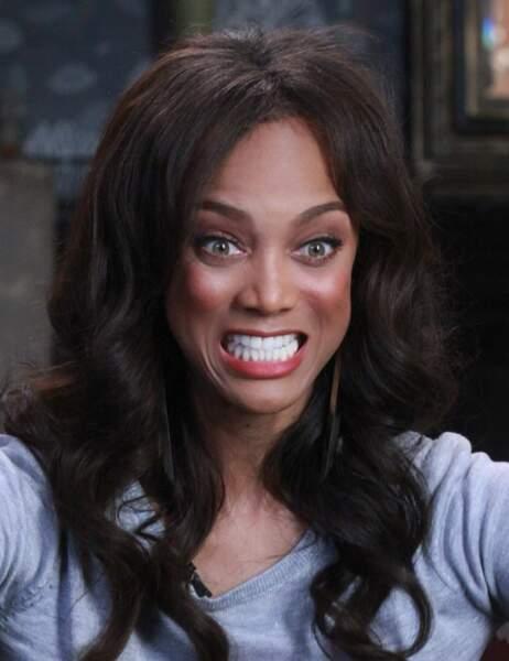 Tyra Banks a une phobie peu commune. Elle flippe devant...