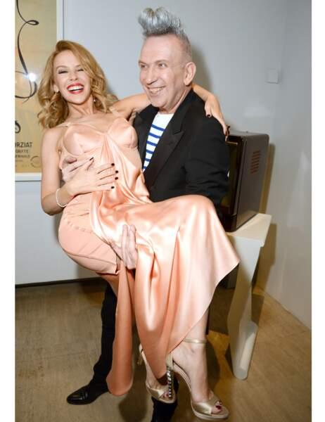 Une icône et des cônes (Kylie Minogue et Jean-Paul Gaultier)