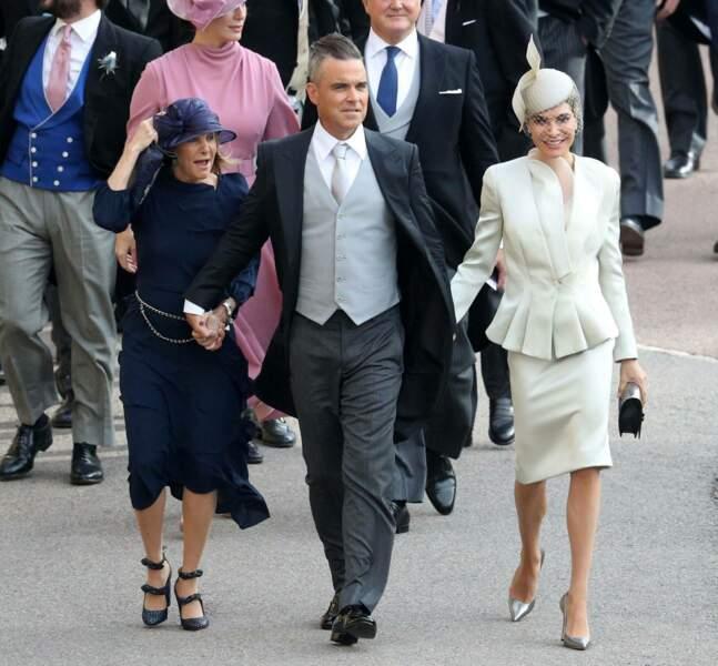 Robbie Williams au mariage de la princesse Eugenie et Jack Brooksbank