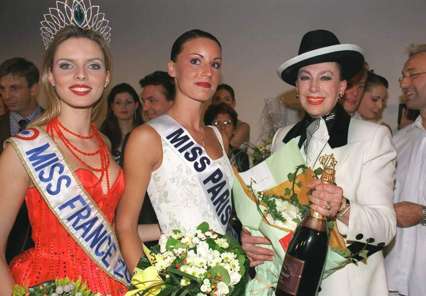 Sylvie Tellier, Miss France 2002 et la patronne des Miss de l'époque Geneviève de Fontenay