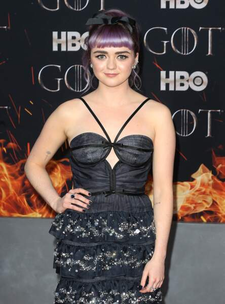 Game of Thrones - les looks de l'actrice Maisie Williams alias Arya Stark