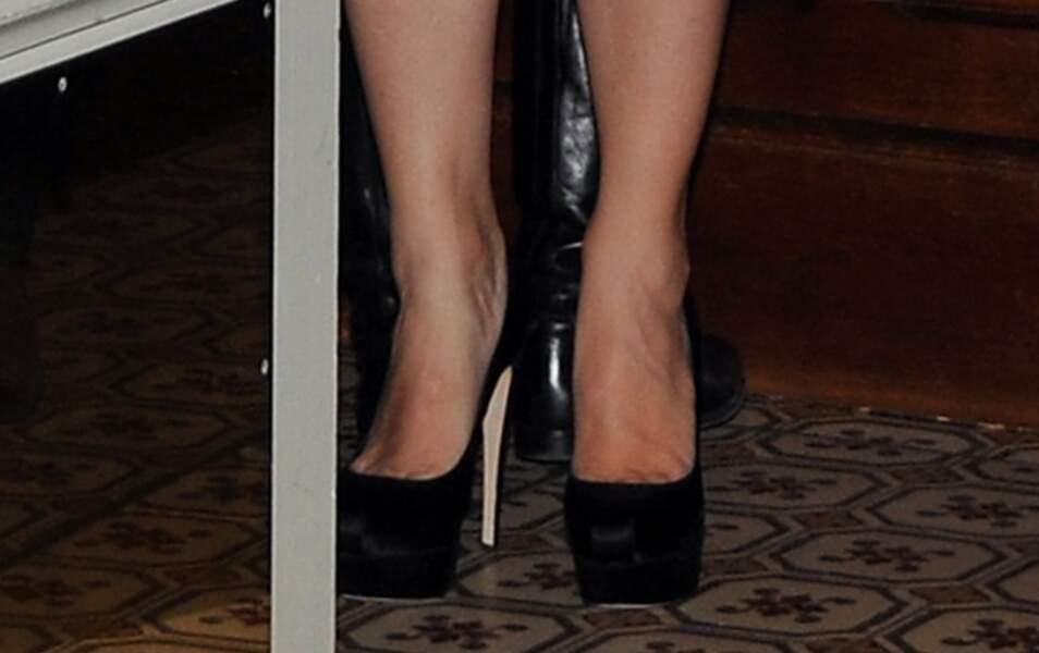 Les chaussures de Jennifer Garner