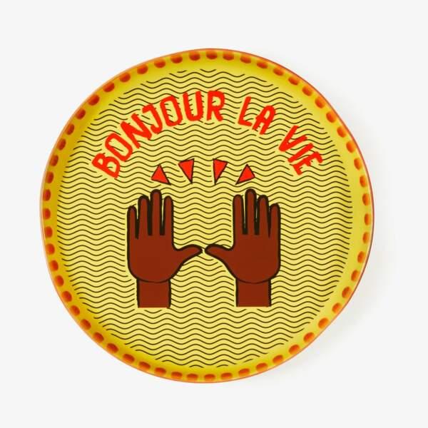 Assiette Monoprix x Maison Château Rouge, 8 euros