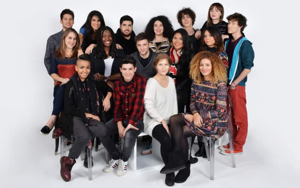 Les 16 candidats de Nouvelle Star