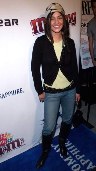 Gossip Girl 10 ans après, à quoi ressemblent les acteurs - Jessica Szohr, alias Vanessa Abrams, en 2007
