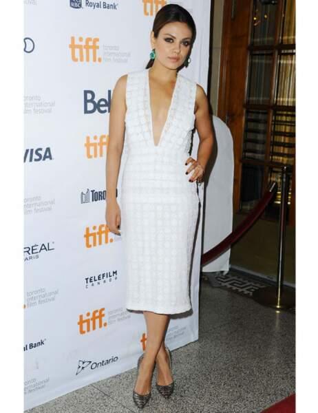 Mila Kunis à une avant-première