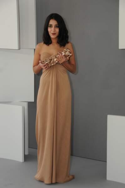 Leila Bekhti à la 36e cérémonie des César, en 2011