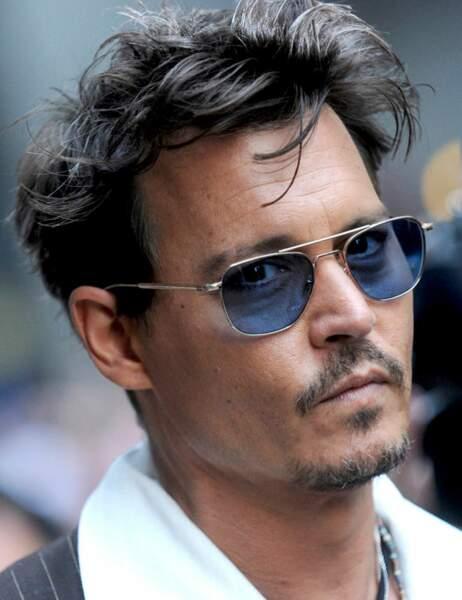 Johnny Depp est coulrophobe. Il a peur...