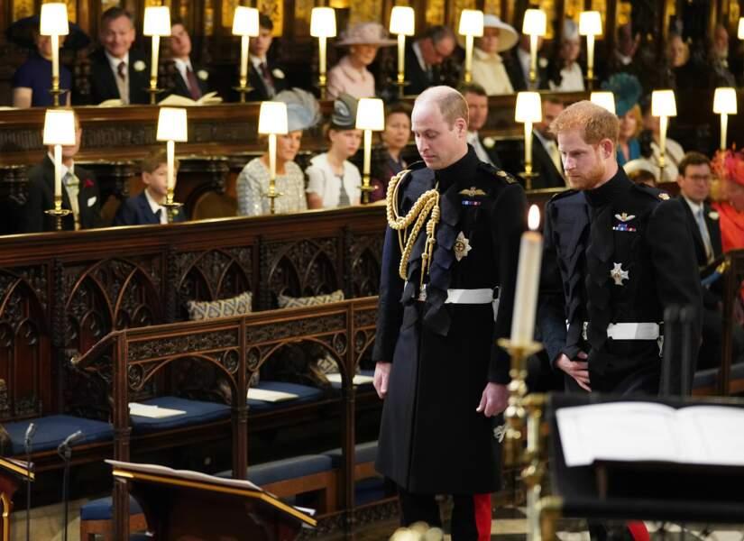 Le prince Harry, en pleine attente avec le prince William