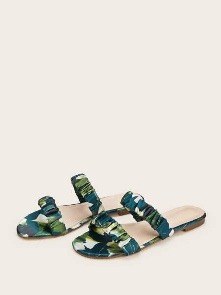 Sandales double strap, Shein, 19€