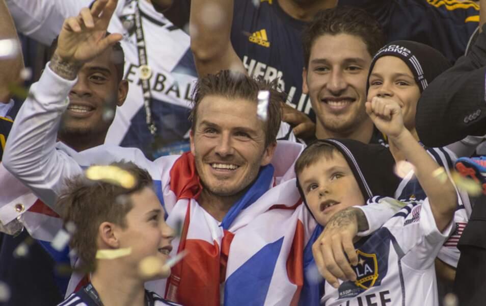 David, Brookly, Romeo, Cruz Beckham