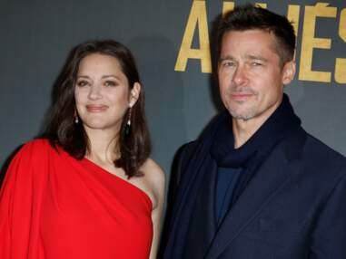 Brad Pitt et Marion Cotillard : avant-première d'Alliés à Paris