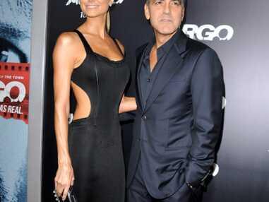 George Clooney, Stacy Keibler, Ben Affleck et Jennifer Garner à l'avant-première d'Ar