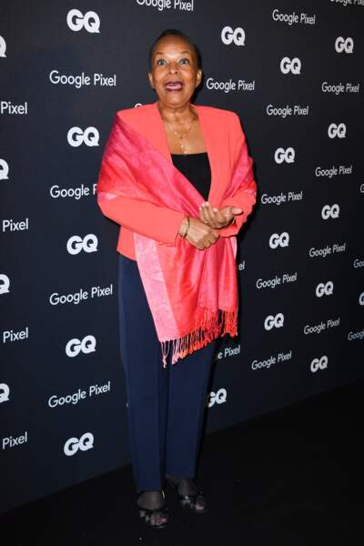 GQ Men Of The Year Awards 2018 : Christiane Taubira