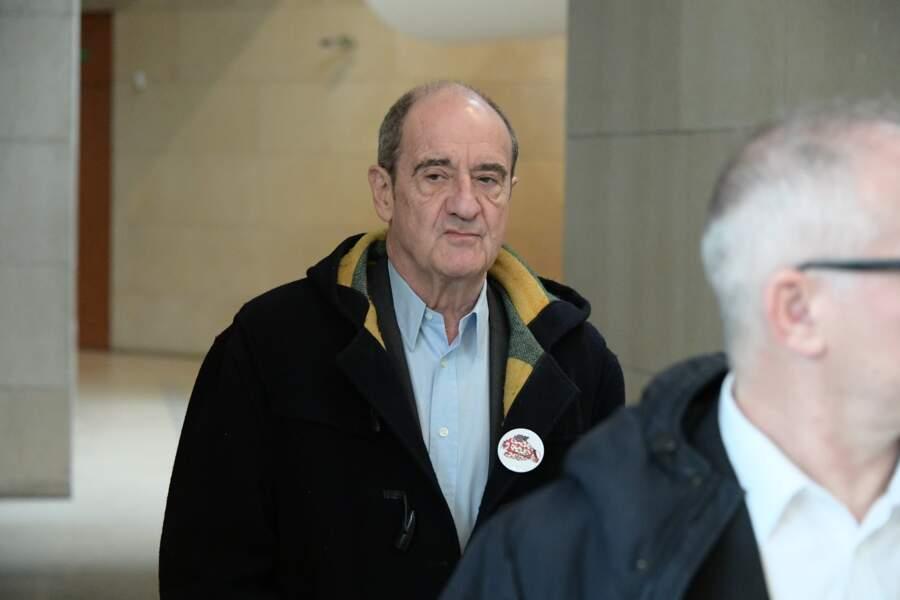 Pierre Lescure à l'hommage à Agnès Varda