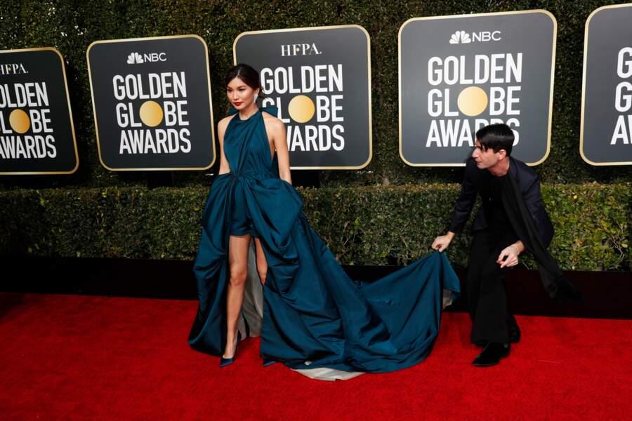 76ème cérémonie des Golden Globes : Gemma Chan