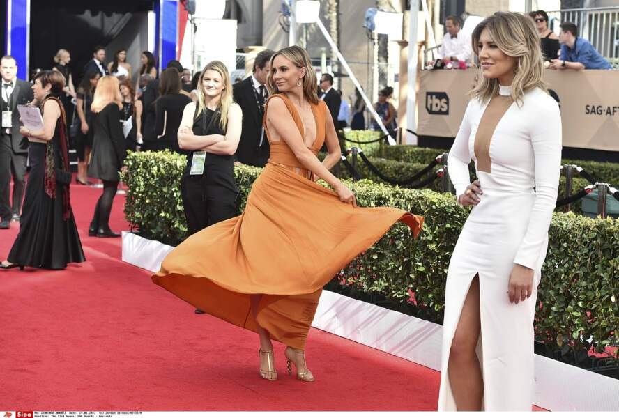 SAG Awards 2017 : Keltie Knight et Charissa Thompson