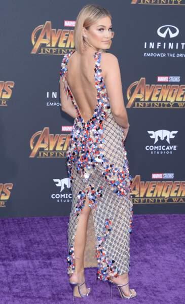 Première mondiale d'Avengers: Infinity War - Olivia Holt