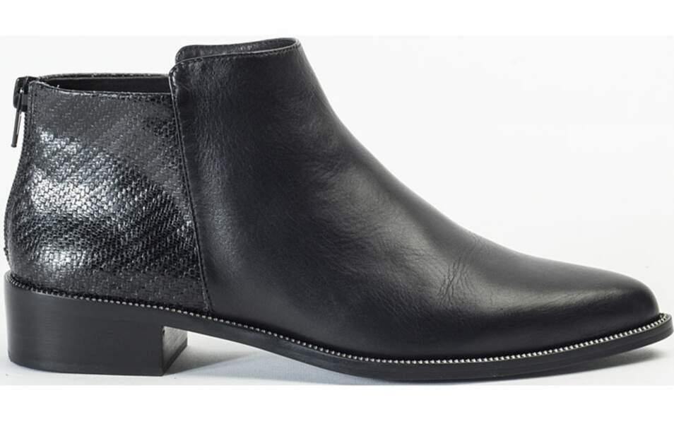 Boots en cuir, 149€, André