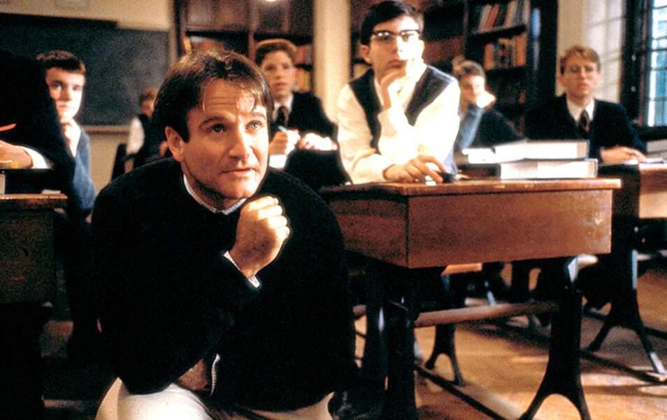 Le rôle du professeur John Keating dans Le Cercle des poètes disparus lui vaut une nomination aux Oscars en 1989