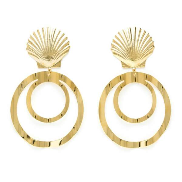 Boucles d'oreilles Garance, Charly James, 72€