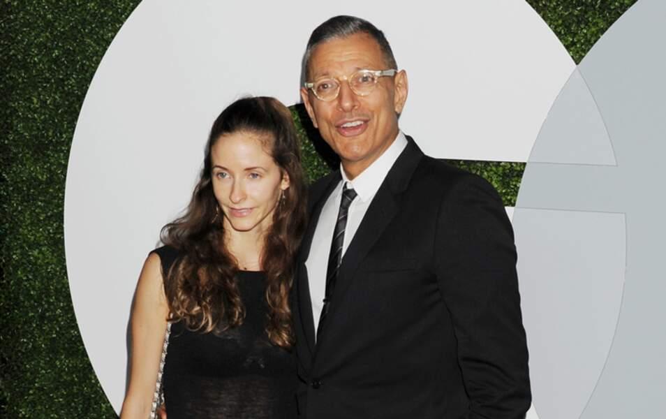 Jeff Goldblum et Emilie Livingston