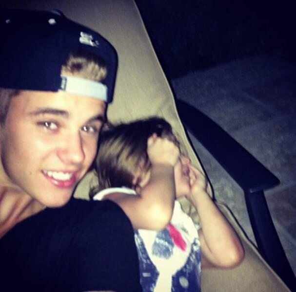 Justin Bieber et sa petite soeur Jazmine