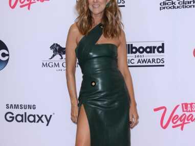 Céline Dion se la joue sexy en cuir aux Billboard Music Awards