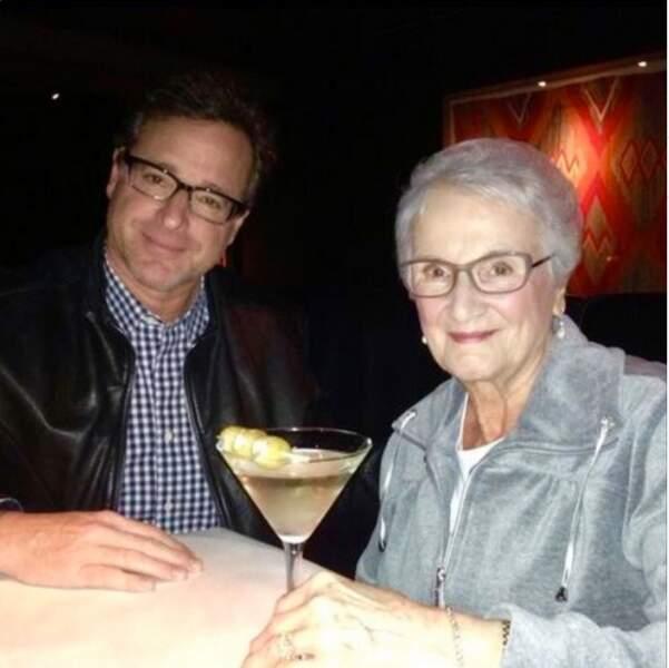 Bob Sager avec sa mère