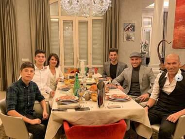 Zinédine Zidane en famille pour fêter la nouvelle année, son fils Luca est son sosie
