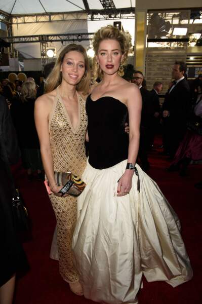 76ème cérémonie des Golden Globes : Amber Heard