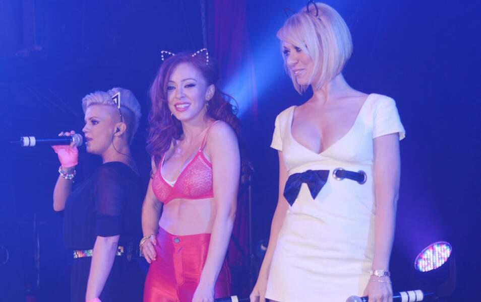 Kerry Katona, Natasha Hamilton et Liz McClarnon