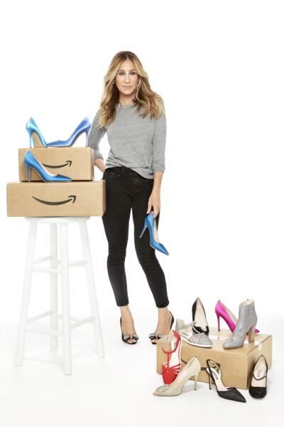 Sarah Jessica Parker et sa collection de chaussures x Amazon Mode