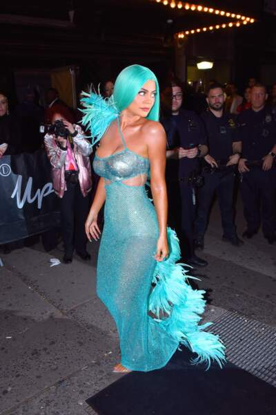 Kylie Jenner se la jouant petite sirène