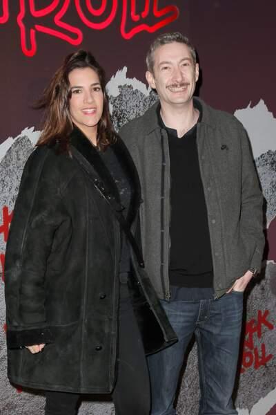 Avant-première de Rock'n Roll : Vincent Desagnat et sa compagne Charlotte Gabris