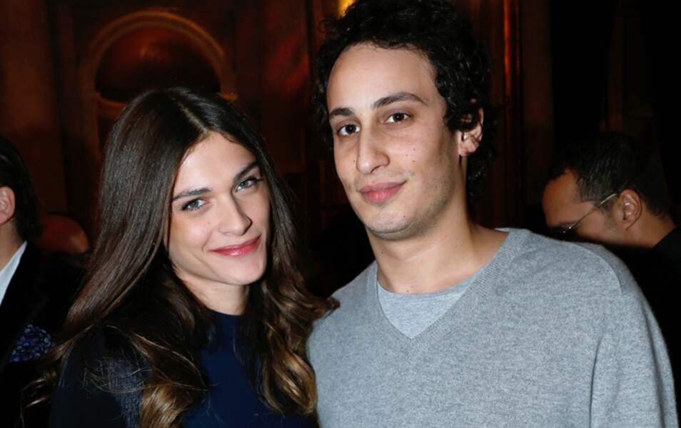 Alex Dellal et Elisa Sednaoui