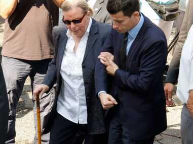 Bernadette Chirac, Nicolas et Carla Sarkozy aux obsèques de Charles Pasqua