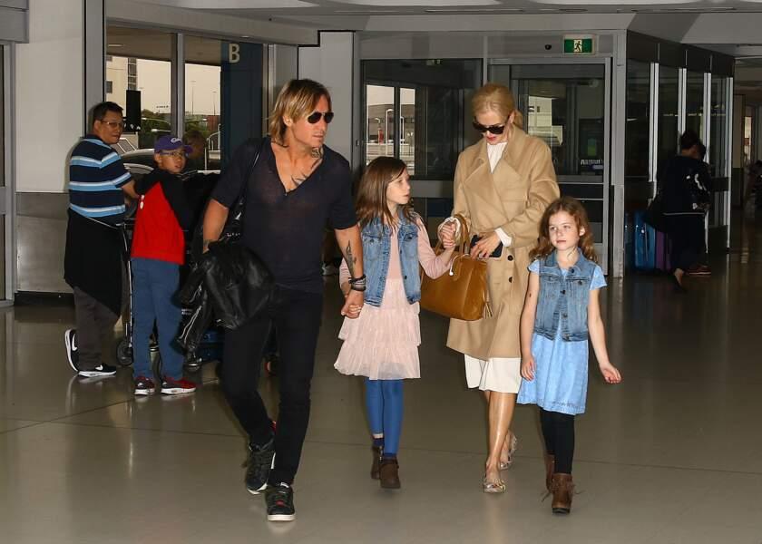 Nicole Kidman : ses filles ont bien grandi et sont les sosies de leur mère !