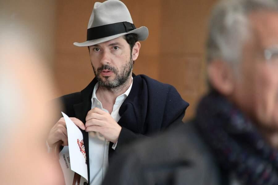 Melvil Poupaud à l'hommage à Agnès Varda