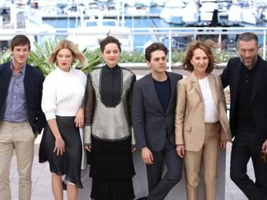 Cannes 2016 : Marion Cotillard étonnante, Léa Seydoux glamour pour le photocall de leur film