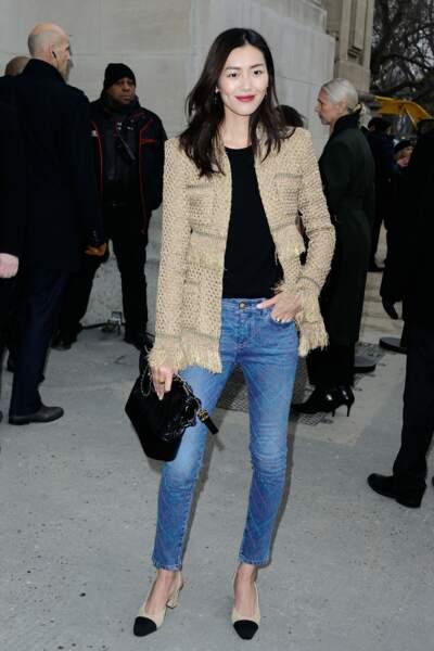 Défilé Chanel Haute Couture : le top Liu Wen