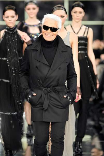 L'évolution physique de Karl Lagerfeld : le créateur en 2007